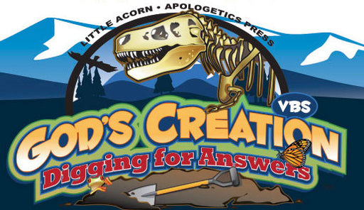 God's Creation - Digging for Answers VBS Sample CD
