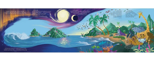 Creation Mural Bulletin Board Set