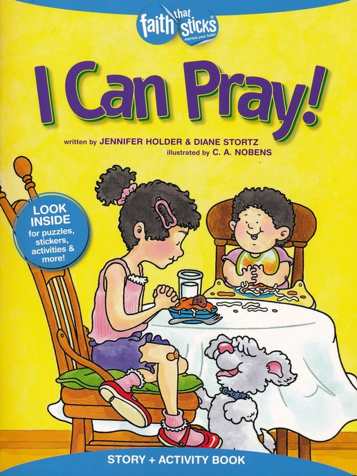 I Can Pray! Story & Activity Book