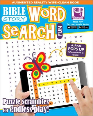 Bible Story Word Search Wipe-Clean Book