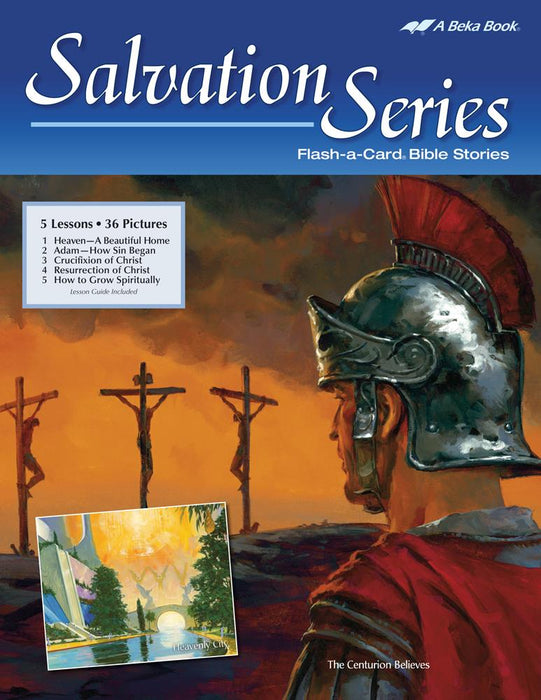 Salvation Series Abeka Flash-A-Card Bible Stories - Book Format