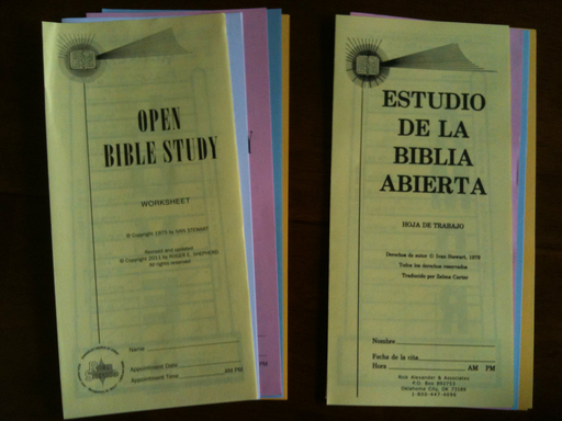 Open Bible Study Introduction - Spanish