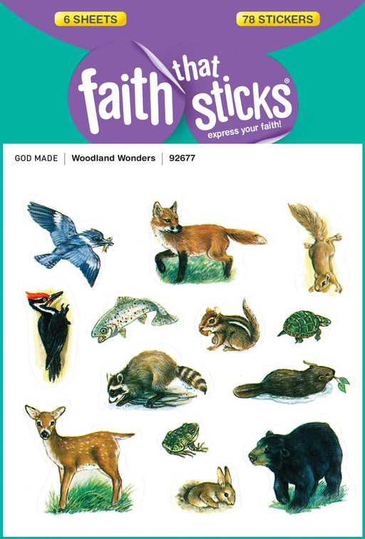 Woodland Wonders Stickers