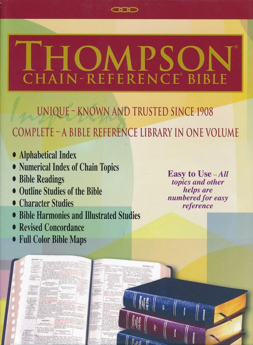 ESV Thompson Chain Bible Bonded, Indexed