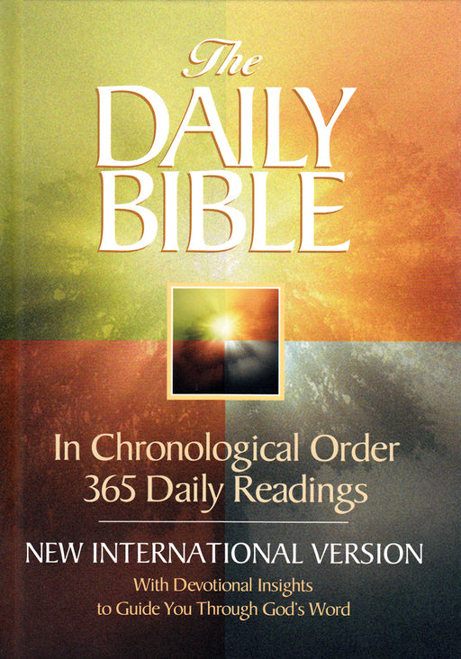 The Daily Bible - NIV (Compact - Hardback)