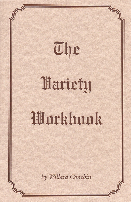 The Variety Workbook