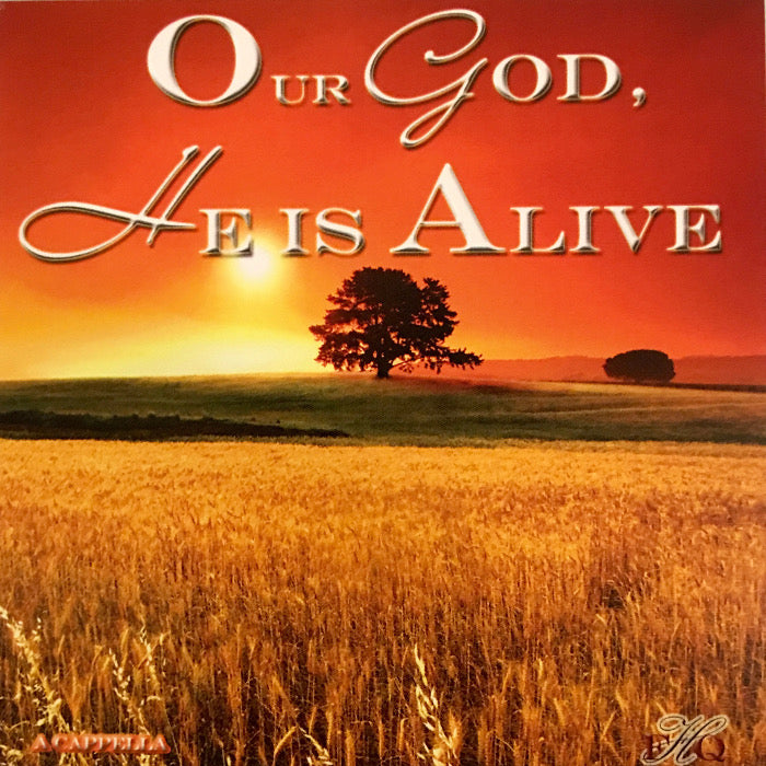 Favorite Hymns Quartet: Our God He Is Alive CD