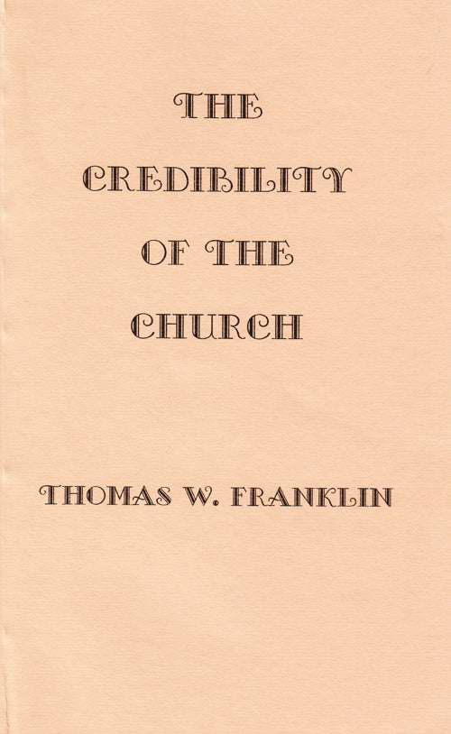 The Credibility of the Church
