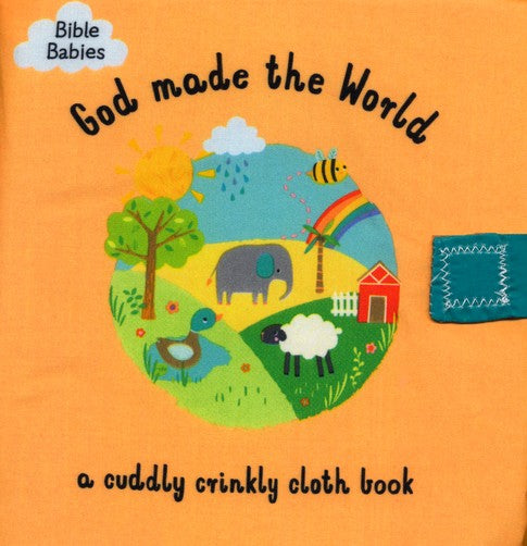 God Made the World Cloth Book
