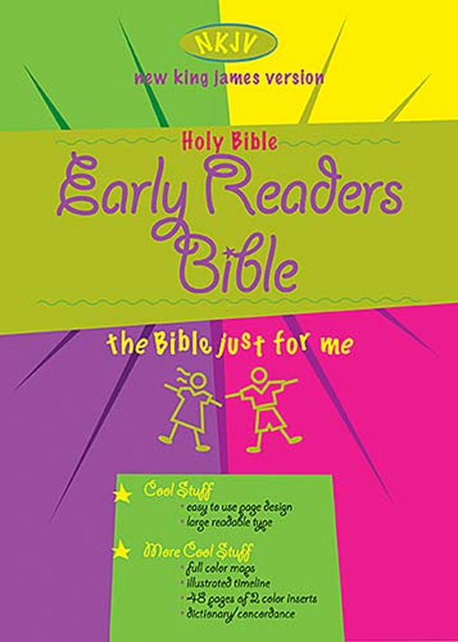 Early Readers Bible NKJV - Hardback