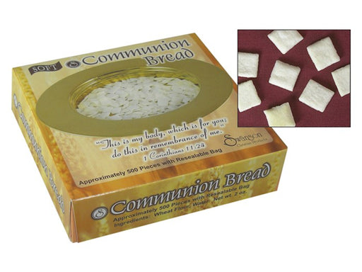 Communion Bread 500 Soft Pieces