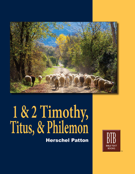 BTB 1 & 2 Timothy - Titus & Philemon