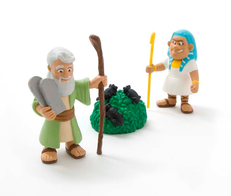 Moses & Ten Plagues Figurine Set - Tales of Glory