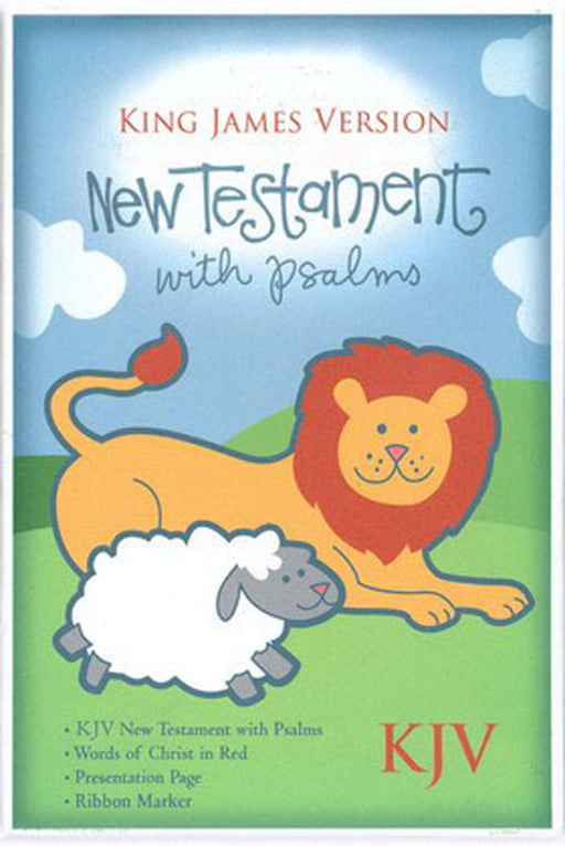 KJV Baby New Testament with Psalms, Pink