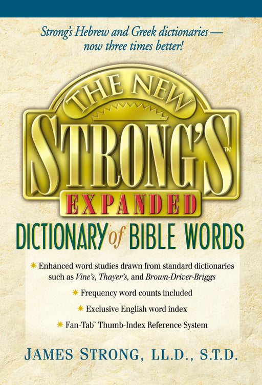 New Strong's Expanded Dictionary of Bible Words