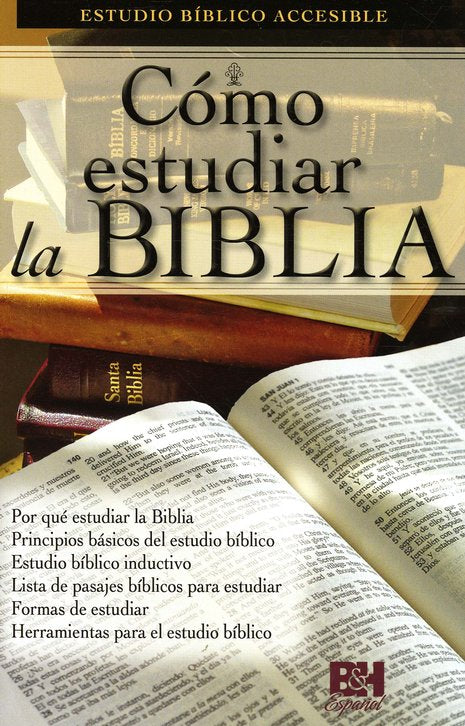 Cómo Estudiar la Biblia  (How to Study the Bible Pamphlet)