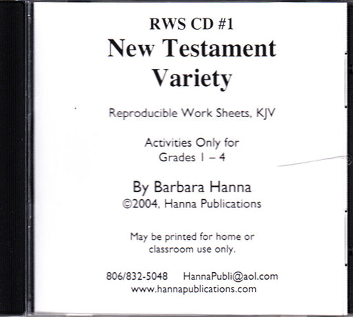 New Testament Variety CD
