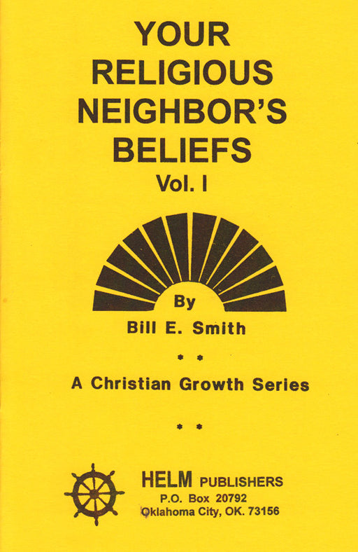 Your Religious Neighbor's Beliefs - 1
