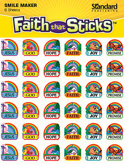 Rainbow Miniatures Stickers