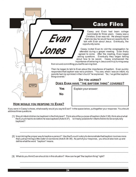 Lesson 6 Case Files