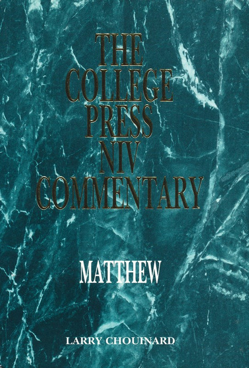 NIV Commentary Series - Matthew