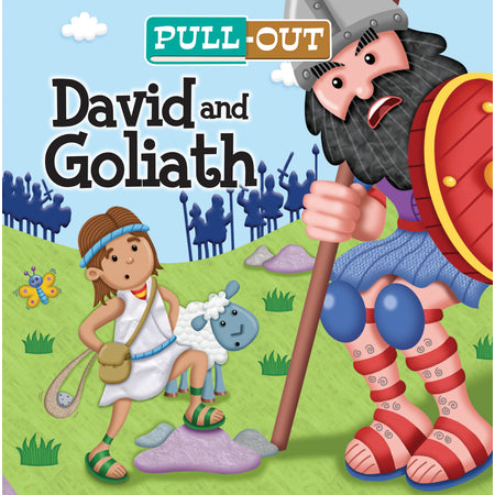 Pull-Out David and Goliath Board Book