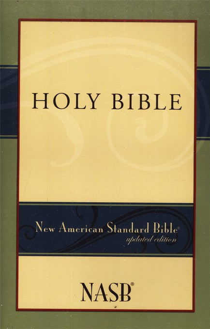 Bible NAS Updated Edition, paperback