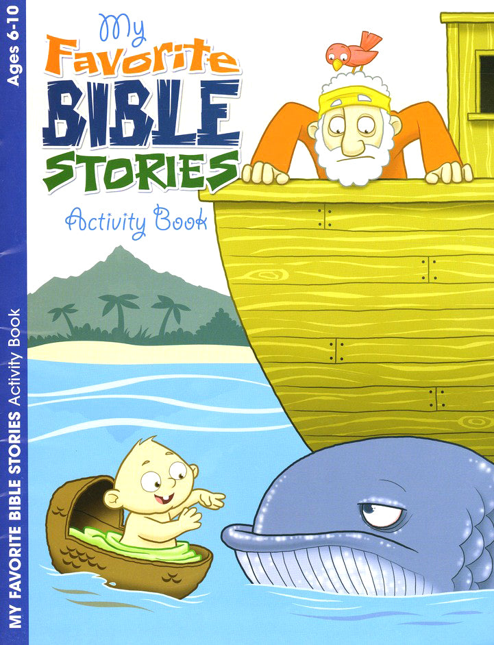 My Favorite Bible Stories Activity Book