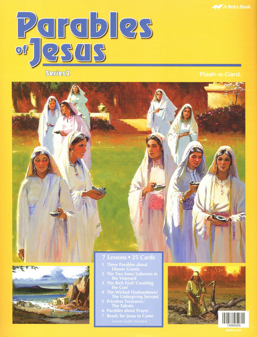 Parables of Jesus 2 A Beka Flash-A-Cards