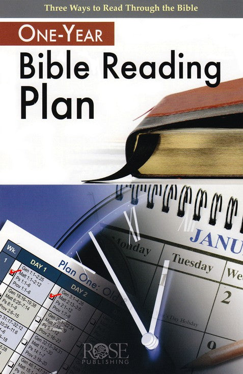 One-Year Bible Reading Plan Pamphlet