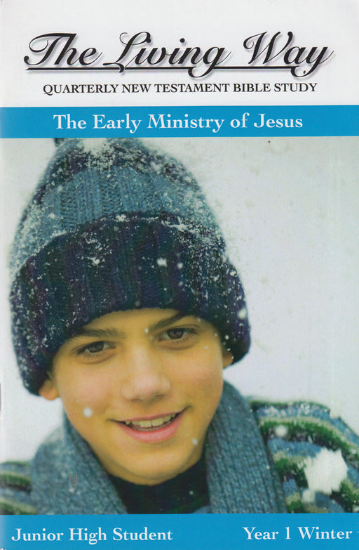JUNIOR HI 1-2 ST - Early Ministry of Jesus