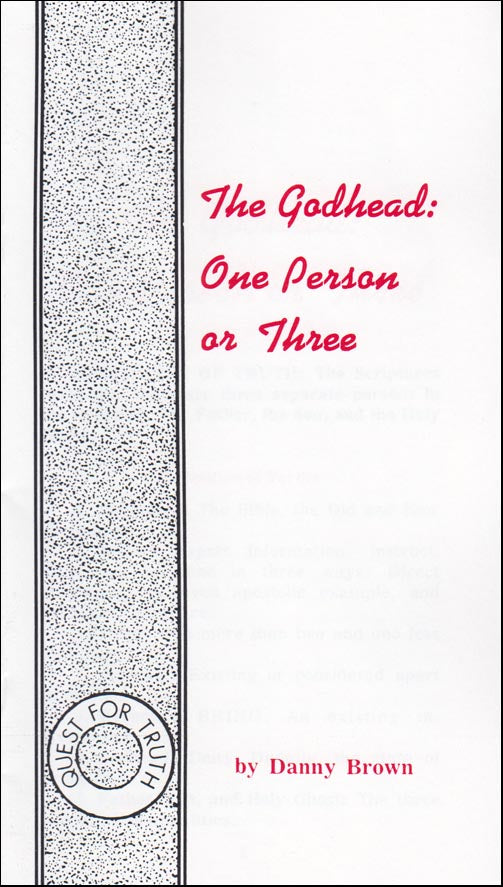 The Godhead:  One Person or Three?