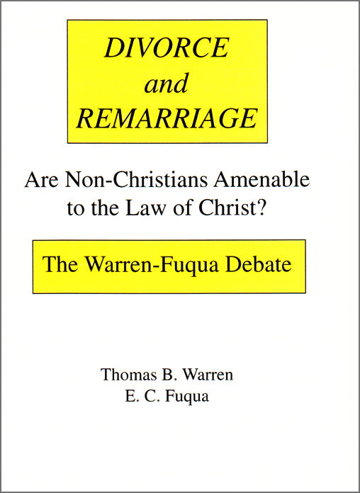 Warren-Fuqua Debate on Divorce & Remarriage