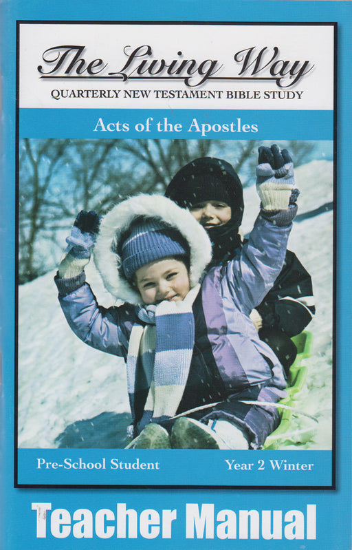 PRESCHOOL 2-2 MAN - Acts of the Apostles