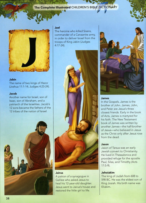 The Complete Illustrated Children's Bible Dictionary