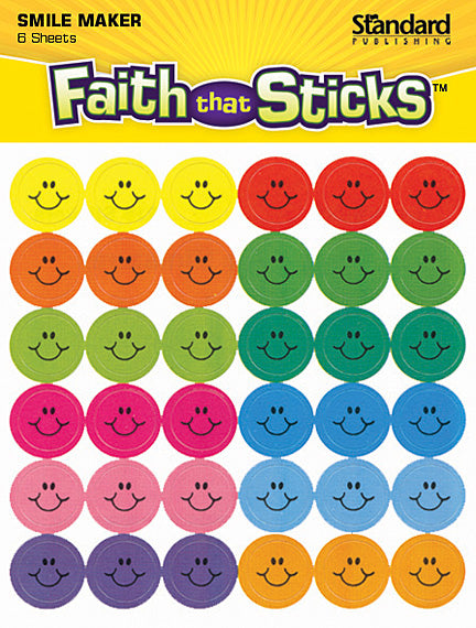 Mini Happy Face Stickers