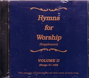 Hymns For Worship Supplement Practice CD #2