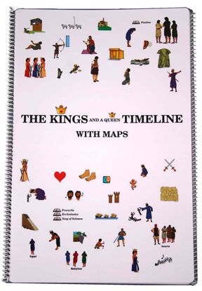 Kings & A Queen Timeline with Maps