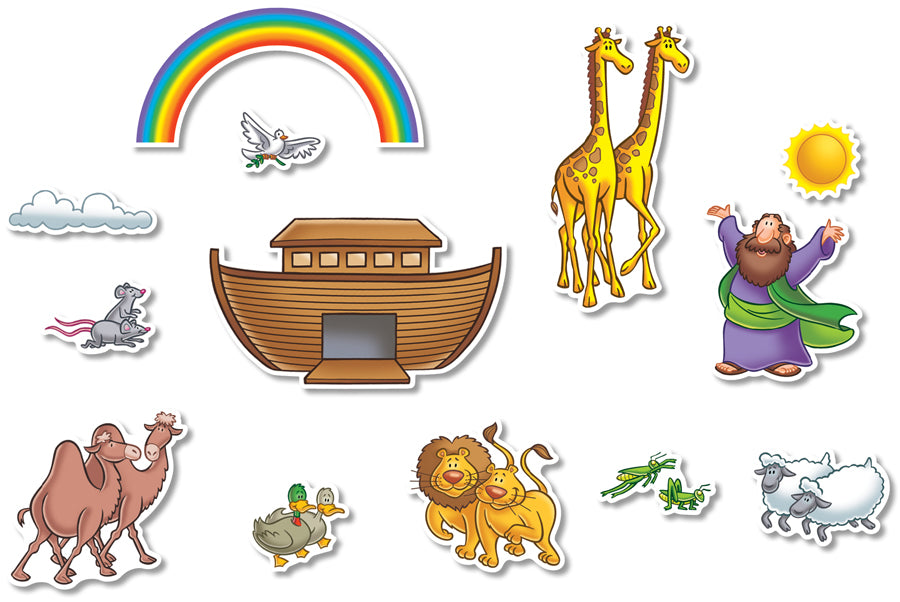 Noah's Ark Bulletin Board Accents