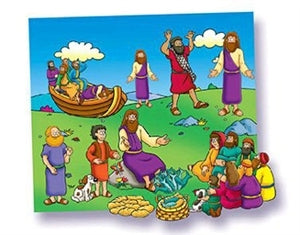 Little Folk-Miracles of Jesus Beginner Bible Precut