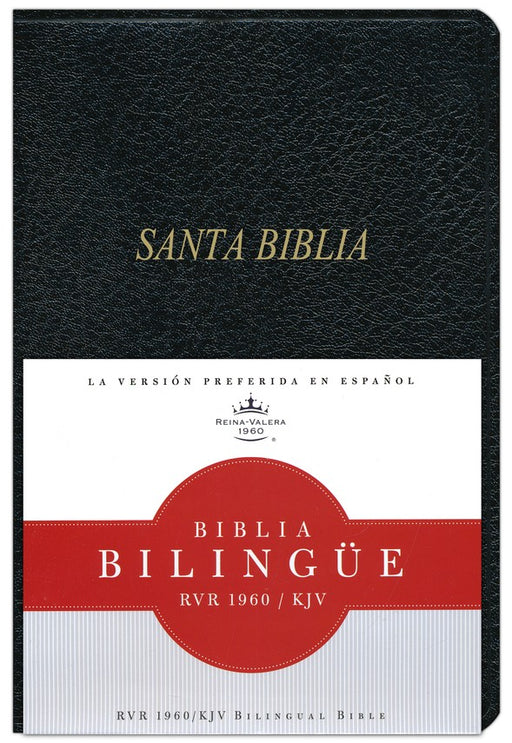 RVR 1960/KJV Bilingual Bible (RVR 1960/KJV Santa Biblia Bilingue Indice) Black Imitation Indexed