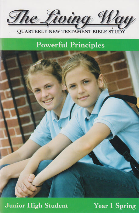 JUNIOR HI 1-3 ST - Powerful Principles