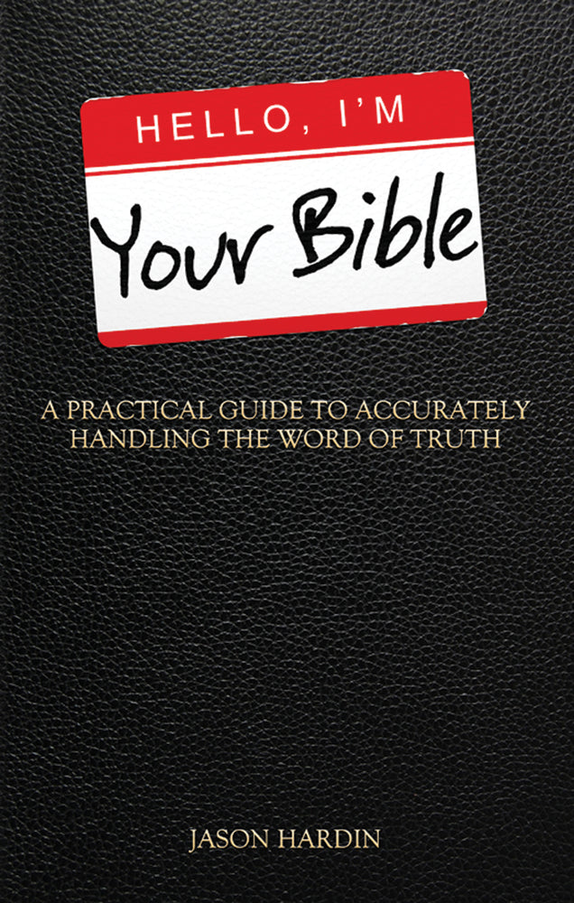 Hello I'm Your Bible