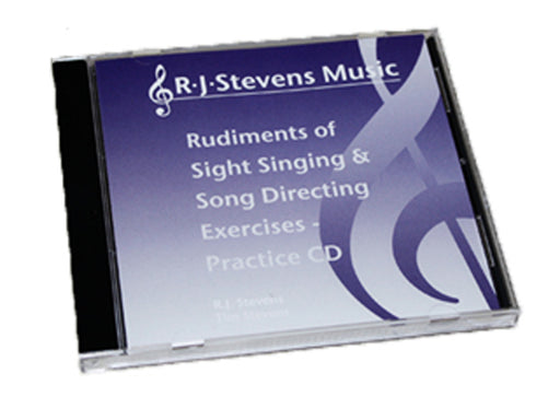Rudiments of Sight Singing & Song Directing Exercises Practice CD