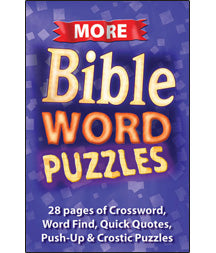 More Word Bible Puzzles