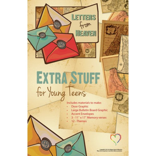 Letters From Heaven Young Teen - Extra Stuff
