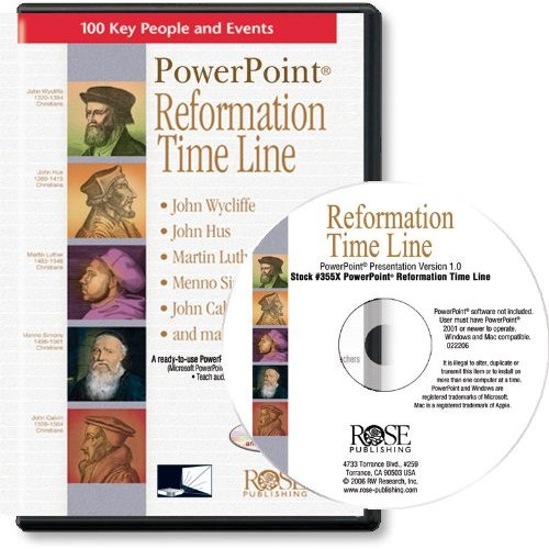 PowerPoint Reformation Time Line