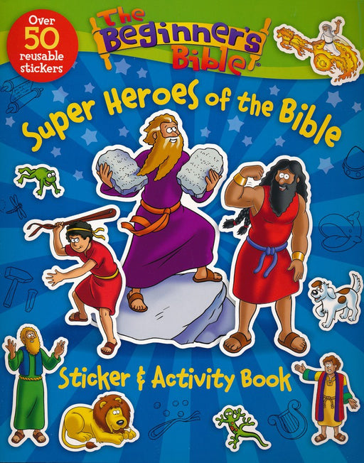Beginner's Bible Super Heroes of the Bible Sticker & Activity Book