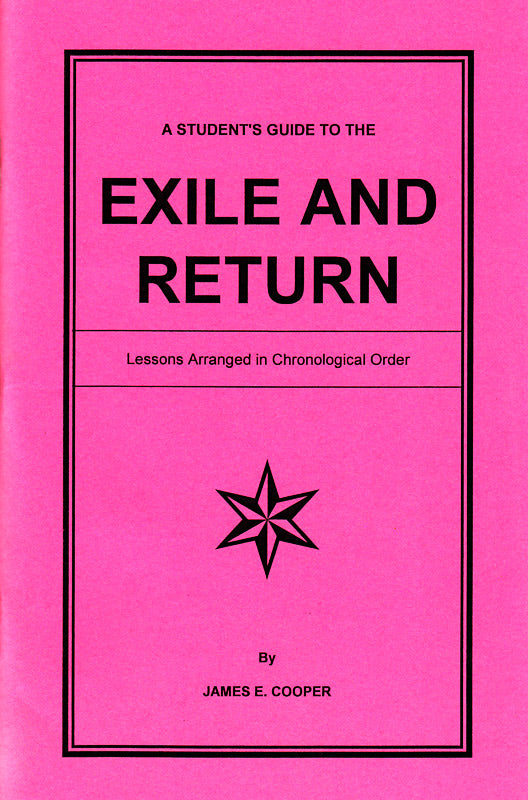 A Student's Guide to the Exile and Return