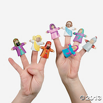"""He Lives"" Finger Puppet (set of 10)"